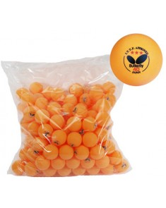 Butterfly 3 Star Table Tennis Balls - 144 Pack