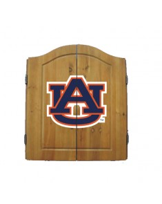 Auburn University Dart Cabinet and Board