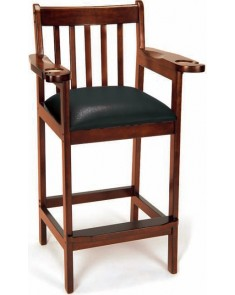 Imperial Antique Walnut Spectator Chairs