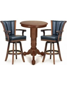 Imperial Antique Walnut Pub Set
