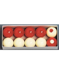 Composition Bumper Pool Ball Set