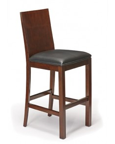 Brunswick Heritage Wood Back Barstool - Set of 2