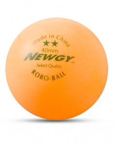 Newgy 2 Star Table Tennis Ball - Orange