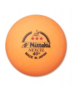 Nittaku 3 Star Nexcel 40+ Table Tennis Balls