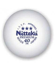 Nittaku 3 Star Premium Table Tennis Balls