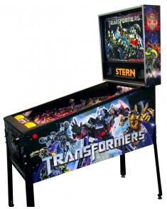 Transformers Pro Pinball Machine