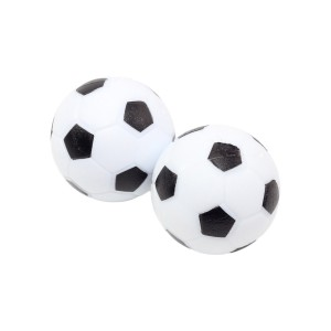 Inlaid Black & White Table Soccer Balls