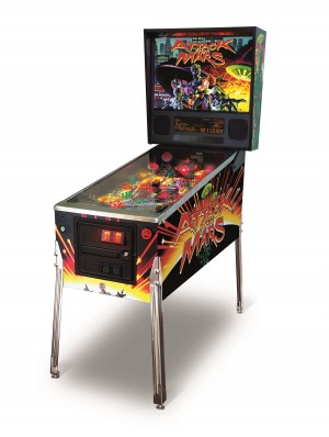 Attack From Mars Classic Edition Pinball Machine