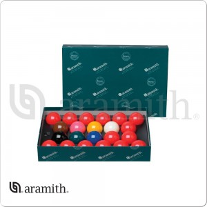 Aramith 2 1/8 Numbered Snooker Ball Set