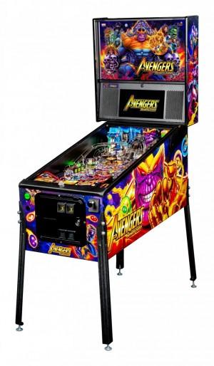 Avengers: Infinity Quest Premium Pinball Machine