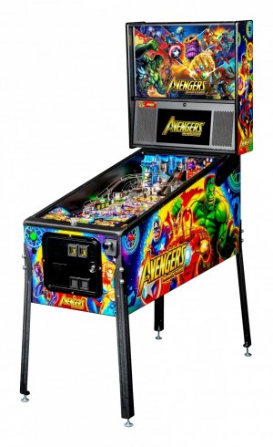 Avengers: Infinity Quest Pro Pinball Machine (Pick Up Only)