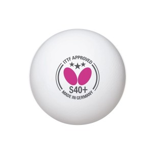Butterfly 3 Star S40+ Table Tennis Balls - 12 Pack
