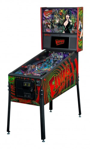 Elvira's House of Horrors Premium Pinball Machine (PRE ORDER!)