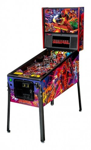 Deadpool Pro Pinball Machine