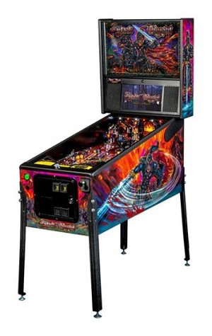 Black Knight: Sword Of Rage Premium Pinball Machine