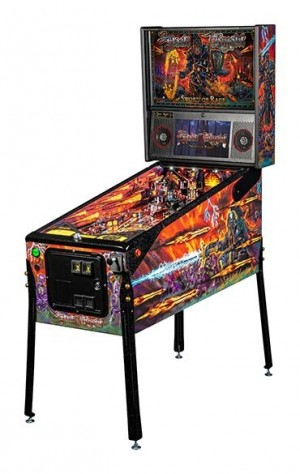 Black Knight: Sword Of Rage Limited Edition Pinball Machine (Pick Up Only)