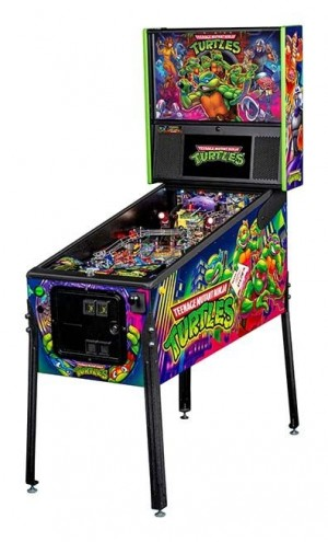 Tennage Mutant Ninja Turtles Pro Pinball Machine
