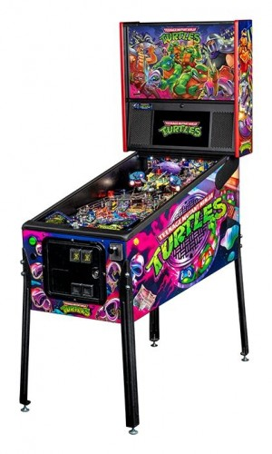 Tennage Mutant Ninja Turtles Premium Pinball Machine