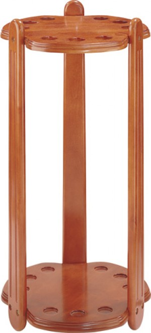 9 Cue Clover Floor Rack