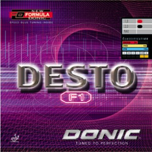 Donic Desto F1 Rubber