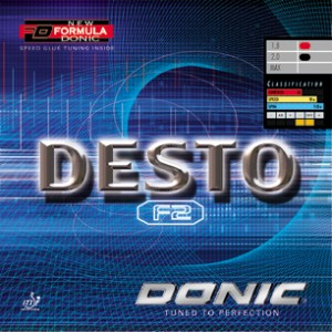 Donic Desto F2 Rubber
