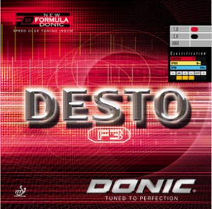 Donic Desto F3 Rubber