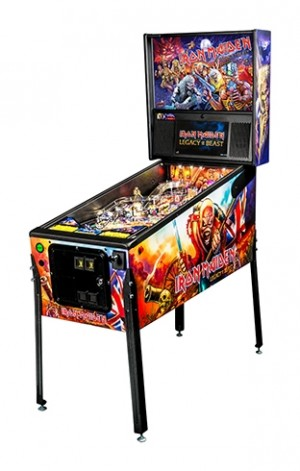 Iron Maiden Pro Pinball Machine