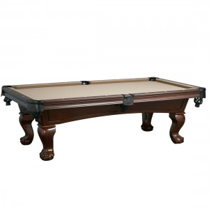 Imperial 8' Lincoln Antique Walnut Pool Table