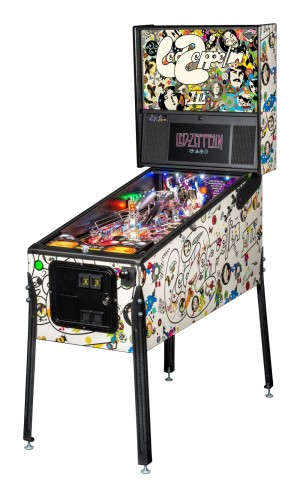 Led Zepplin Pro Pinball Machine