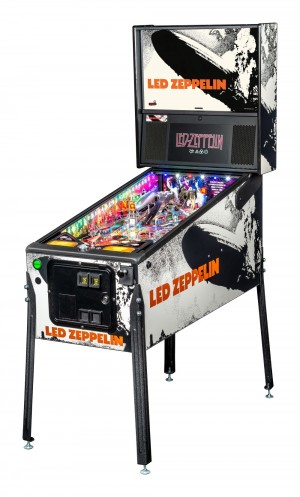 Led Zepplin Premium Pinball Machine