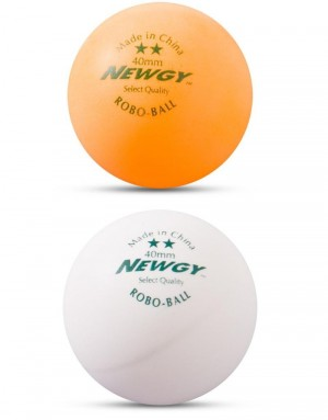 Newgy 2 Star Table Tennis Balls - 144 Pack
