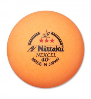 Nittaku 3 Star Nexcel 40+ Table Tennis Balls