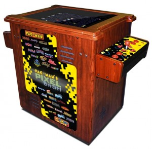 Pac-Man's Pixel Bash Coin-Op Upright Arcade Game