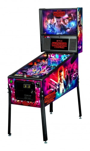 Stranger Things Pro Pinball Machine