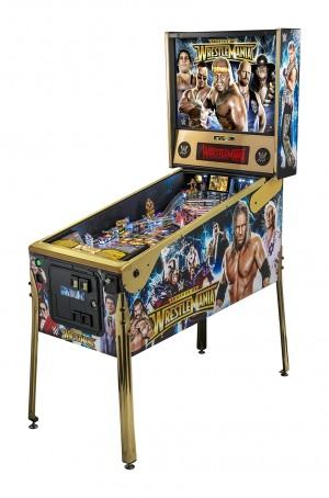 Wrestlemania LE Pinball Machine (PICK UP ONLY-NIB)