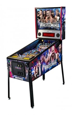 Wrestlemania Pro Pinball Machine (Pick up only)