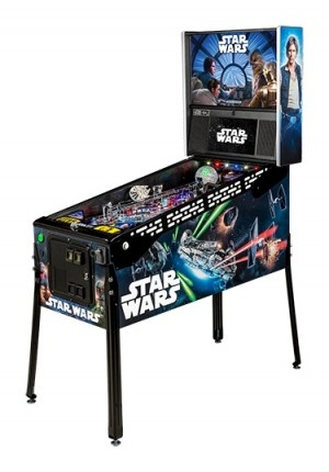 Star Wars LE Pinball Machine (PICK UP ONLY-NIB)