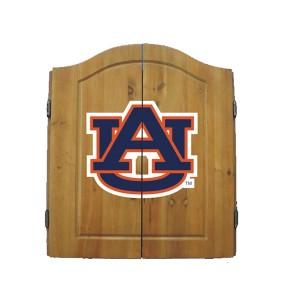 Auburn University Dart Cabinet and Board
