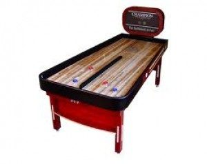 Champion Bank Shot Shuffleboard