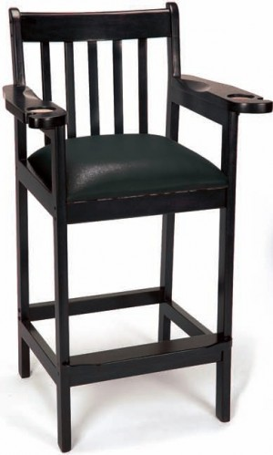 Imperial Black Spectator Chairs