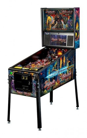 Black Knight: Sword Of Rage Pro Pinball Machine