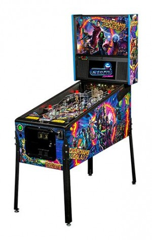 Guardians Of The Galaxy Pro Pinball Machine