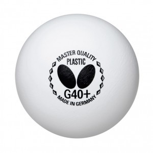 Butterfly Master Quality Ball G40+