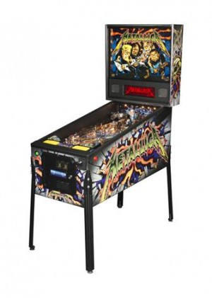 Metallica Pro Pinball Machine (Pick up only)