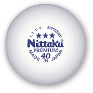 Nittaku 3 Star Premium Table Tennis Balls