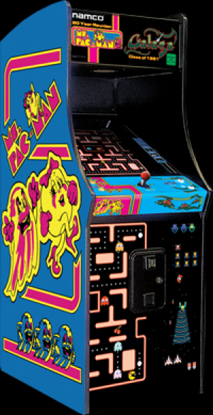 Ms. Pac-Man & Galaga Arcade Home Edition