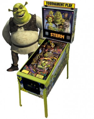 Shrek Pinball Machine (Pick up only)