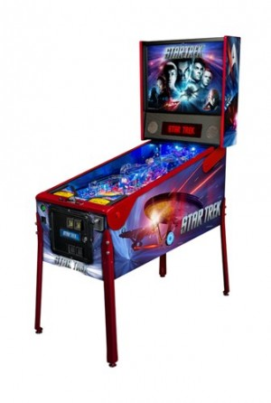 Star Trek Premium Pinball Machine (Pick Up Only)