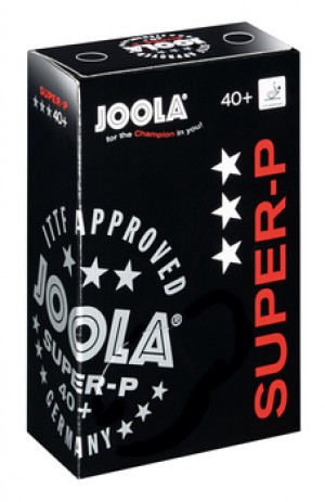 Joola Super-P 3 Star Plastic Table Tennis Balls