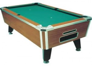 Valley Tiger Pool Table
